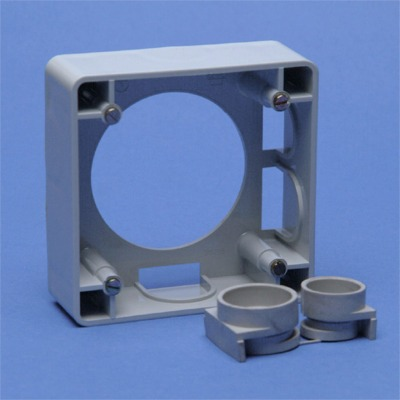 VYNCKIER - Cadre pour montage apparent pour 16/32A gris