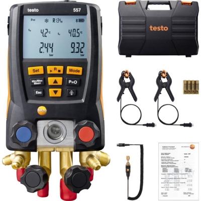 measuring instruments - testo 557 set, digitale manifold met Bluetooth voor koelinstallaties
