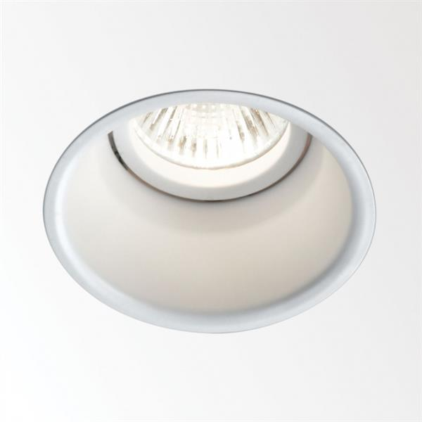 DELTA LIGHT - DEEP RINGO Halogeen downlight inbouw GU10 QPAR51 max. 35W IP44/20 wit