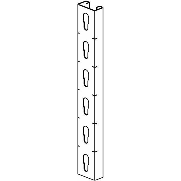 Vangeel Systems - Profiel R41x21x1,5 geperforeerd L2000 Sdz