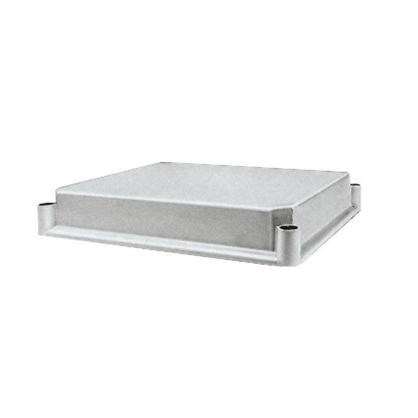 SAREL - Ondoorzichtig polycarbonaat deksel 27x36x4,5cm