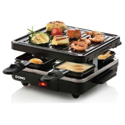 Domo - Raclette / grill Just Us - 21x21cm - 4 personnes