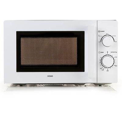 Domo - Four à micro-ondes pose-libre, 700W, 20l, 5 puissances, blanc