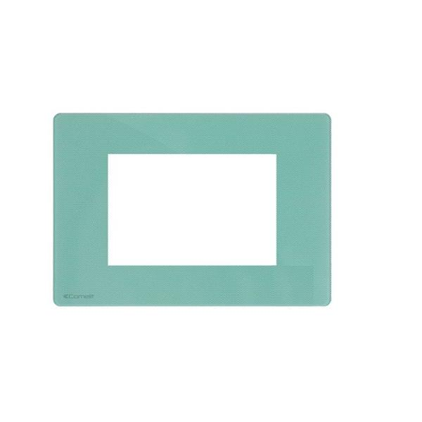 Comelit - AFDEKRAAM ONE MINTGROEN COMP. MET BTICINO AXOLUTE 4 MODULES