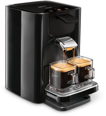 PHILIPS - Koffiezetapparaat Senseo Quadrante - zwart