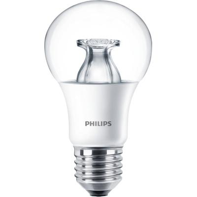 PHILIPS - Master LED bulb dimtone 8.5-60W E27 A60 230V 2200-2700K 806lm CRI80 Clair 25000h