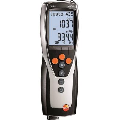 DIVERSE MATERIALEN - Klimaatmeter Testo 435-2 - vr metingen ventilatie-, klimaat- en airco systemen
