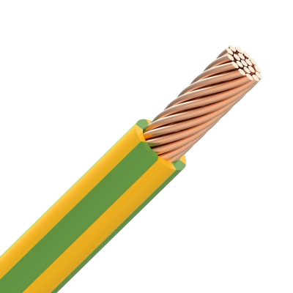 CABLEBEL - H07Z1-R draad LS0H samengeslagen 750V Cca s1d2a1 60°C geel/groen 16mm²
