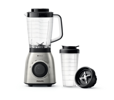 PHILIPS - Blender Viva Collection - 900W - 2l - flesaccessoire voor onderweg