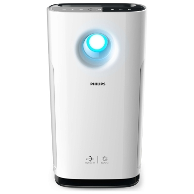 PHILIPS - Purificateur d'air - 95m² - blanc
