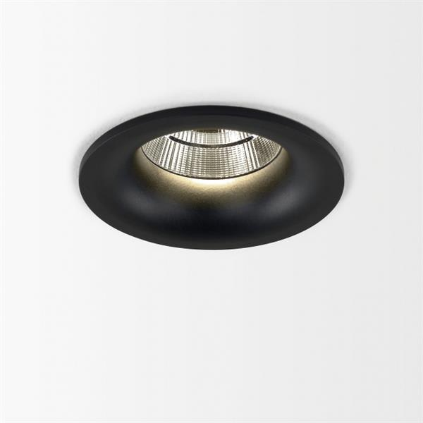 DELTA LIGHT - Reo 94033 S1 plafondinbouw 4000K CRI90 33° IP43/20-20/20 zwart