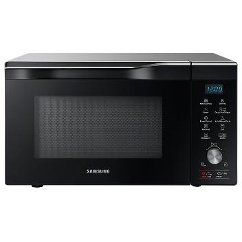 Samsung - Four à micro-ondes combi, 32l, fermentation, HotBlast, SlimFry, SteamBowl,argent