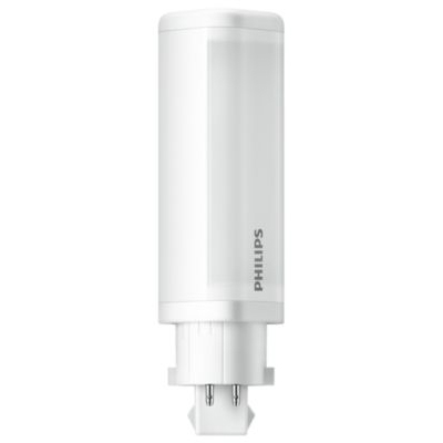 PHILIPS - CorePro LED 4.5W G24Q-2 PLC 20-50V 3000K 475lm CRI83 4P 30000u