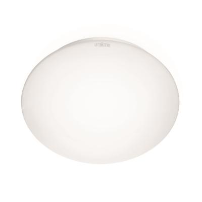 STEINEL - RS16 LED 9W 4000K 873lm HF-sensor IP44, verre opale Ø255x92mm