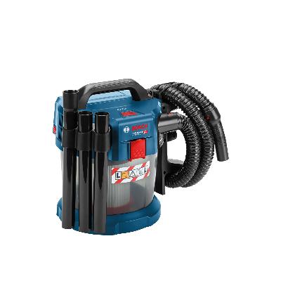 BOSCH - Aspirateur sans fil GAS 18V-10 L, 2x 5Ah + chargeur, adaptateur powertool,L-BOXX