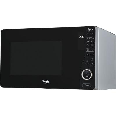 WHIRLPOOL - Four à micro-ondes pose-libre,  800W,  25l, grill, Jet Start, argent/noir