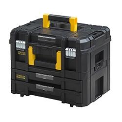 FACOM, STANLEY, B&D - FatMax TSTAK Combo II + IV, 440x332x326mm (compatibel met DeWalt TSTAK)