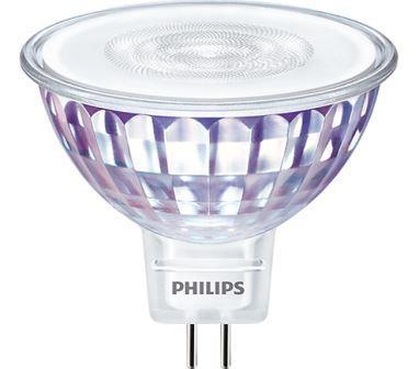 PHILIPS - Master LED spot VLE dimmable 5.5-35W GU5.3 MR16 12V 4000K 490lm CRI80 36D 25000h