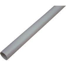 DYKA PLASTICS - Tube PVC TTH - diamètre 40mm - longueur     3m - gris foncé RAL 7037