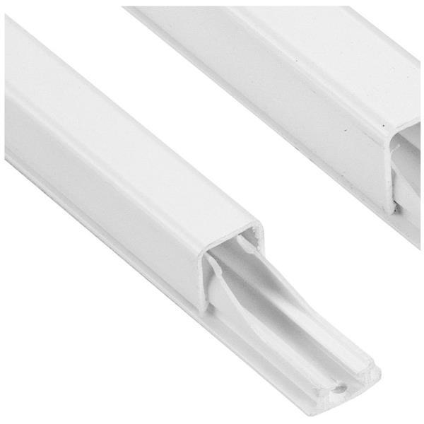 LEGRAND - DLP kabelgeleider - wit - 1,2m 11 x 10,5 mm - diam. 3/6 mm