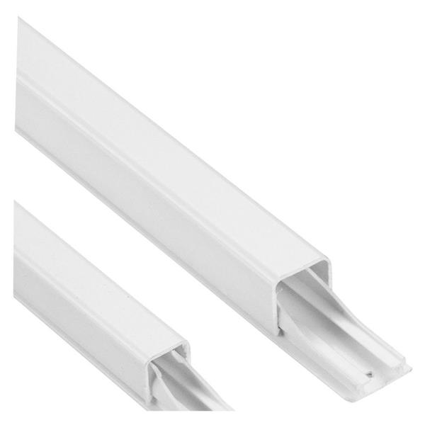 LEGRAND - DLP kabelgeleider - wit - 1,2m 14 x 13,5 mm - diam. 7/9 mm