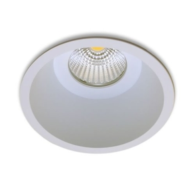 LUMINAR - Leds Boost - ROUNDO 13 - 230Vac - 9W - 2700K - 625lm - wit gelakt alu - IP20