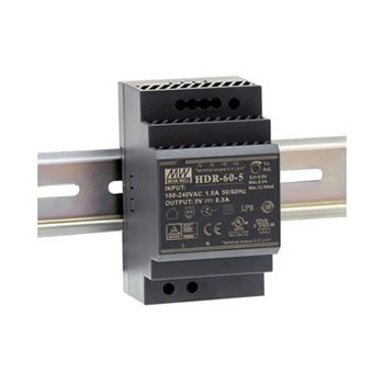 LUMINAR - Leds Boost - voeding 60W - in 24Vdc - out 100-240Vac - IP20 - laag model