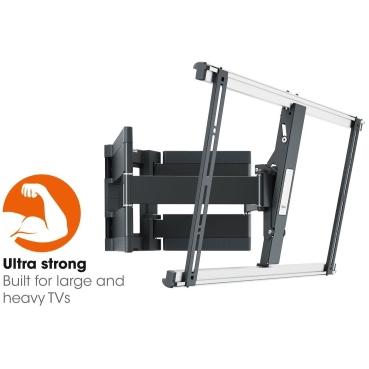 VOGEL'S - Thin 550 black turn 120 TV wall mount 40-100 inch