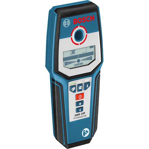 BOSCH - Détecteur GMS 120 Professional, profondeur de détection jusqu'à 120mm, IP54