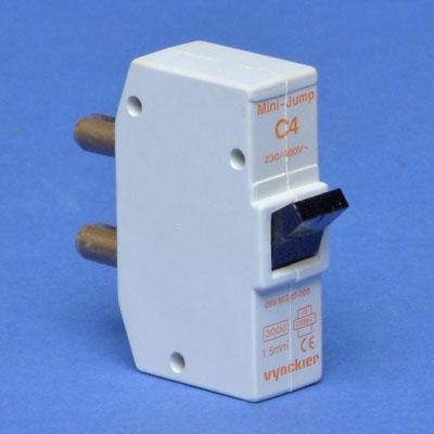 VYNCKIER - Mini-Jump disjoncteur à broches 1P C 4A