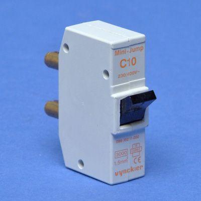VYNCKIER - Mini-Jump disjoncteur à broches 1P C 10A