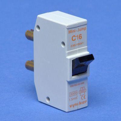 VYNCKIER - Mini-Jump disjoncteur à broches 1P C 16A