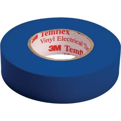 3M - Temflex 1500 ruban isolant électrique vinyl 19mm x 20m bleu