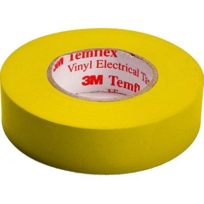 3M - Temflex 1500 ruban isolant électrique vinyl 19mm x 20m jaune
