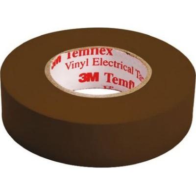 3M - Temflex 1500 ruban isolant électrique vinyl 19mm x 20m brun
