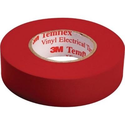 3M - Temflex 1500 ruban isolant électrique vinyl 19mm x 20m rouge