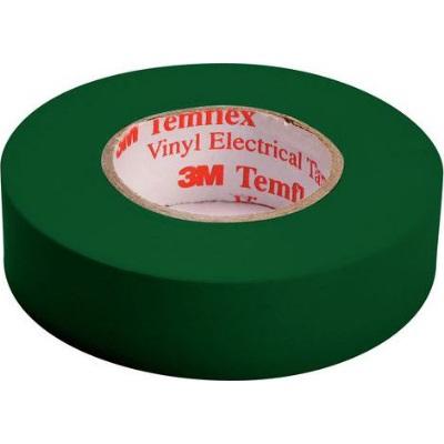 3M - Temflex 1500 ruban isolant électrique vinyl 19mm x 20m vert