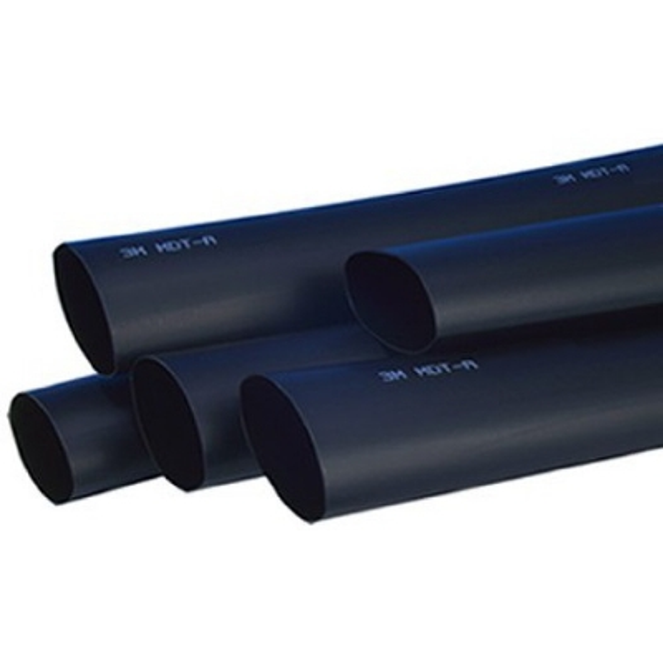 3M - HDT-A dikwandige warmtekrimpkous met lijm 19/6mm zwart 1m