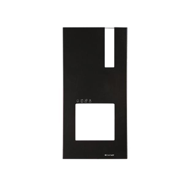 Comelit - Façade noir pour Platine de Rue Quadra M