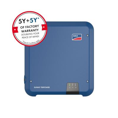 SMA PV-inverters - Omvormer 5.0kW/5.0kVA - ZONDER transfo - Tripower - STANDAARD