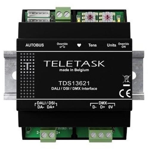 Teletask - une interface AUTOBUS pour DALI (V1.0 / V2.0) / DSI / DMX
