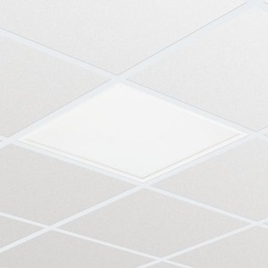 PHILIPS - RC132V LED 33W 3600lm 4000K 90D x 90D IP20 - IP44 IK03 PSU 600mm 600mm OC