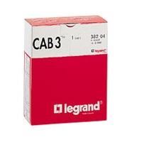 LEGRAND - Set CAB 3 merktekens voor kabels doorsn. 0,5-1,5 mm²