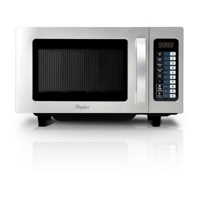 WHIRLPOOL - Four à micro-ondes, 10+10 programmes, Pas de plateau tournant, Eclairage LED