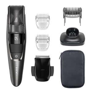 PHILIPS - Tondeuse à barbe serie 7000 - système d'aspiration - 100min sans fil - chroom