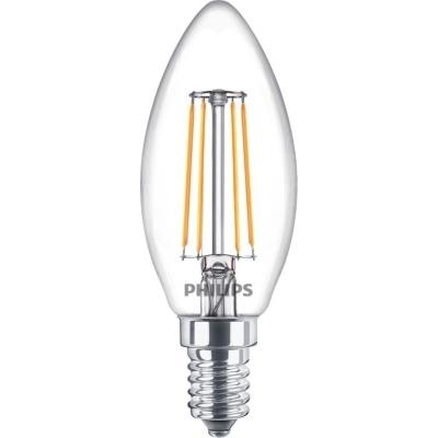 PHILIPS - CLA LED candle 3.4-40W E14 B35 230V 2700K 470lm CRI80 Clear 15000u