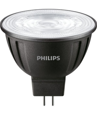 PHILIPS - Master LED spot LV dimmable 8-50W GU5.3 MR16 12V 2700K 621lm CRI80 36D 40000h