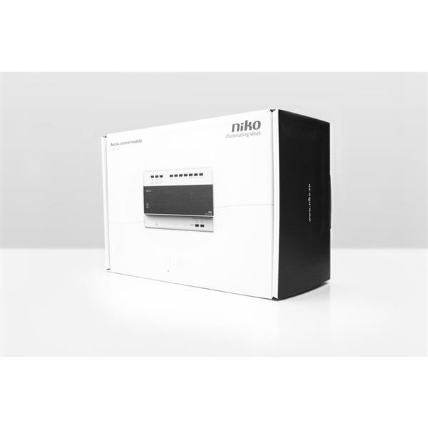 NIKO - Unité de contrôle rail DIN pour poste vidéo extérieur, à deux fils, alimentation