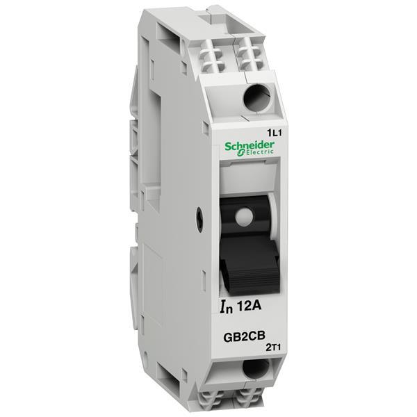 TELEMECANIQUE - Vermogenschakelaar voor stuurkring - GB2-CB - 6A - 1P - 1d