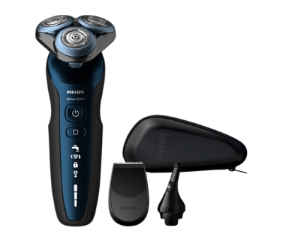 PHILIPS - Rasoir - wet/dry - MultiPrecision - anti-frottement - 60 min d'autonomie